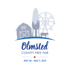 olmsted county fair logo